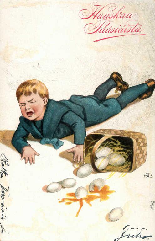 Poika ja munakori